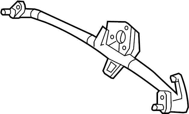 2001 Volkswagen Beetle Windshield Wiper Linkage