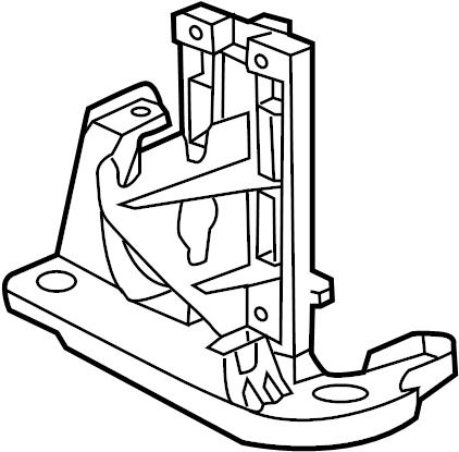 2013 Volkswagen Beetle Convertible Power Steering Pump