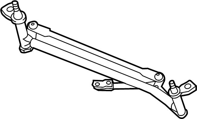 2015 Volkswagen Beetle Convertible Windshield Wiper