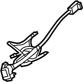 2015 Volkswagen Eos Air Bag Wiring Harness. Multifunction