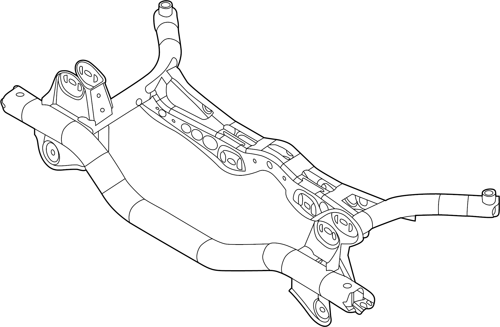 Volkswagen Beetle Convertible Suspension Crossmember