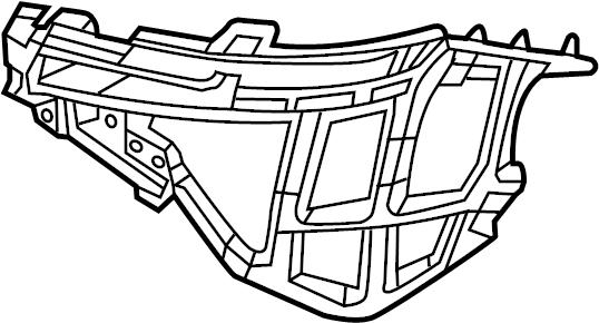 2014 Volkswagen Beetle Guide bracket. PIECE. COMPONENETS