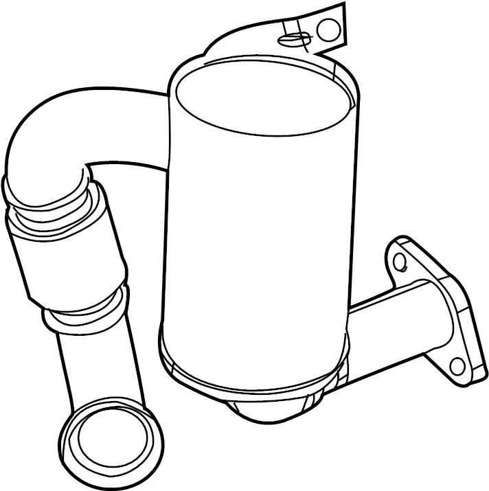 2014 Volkswagen Jetta Tube. Pipe. Diesel Particulate