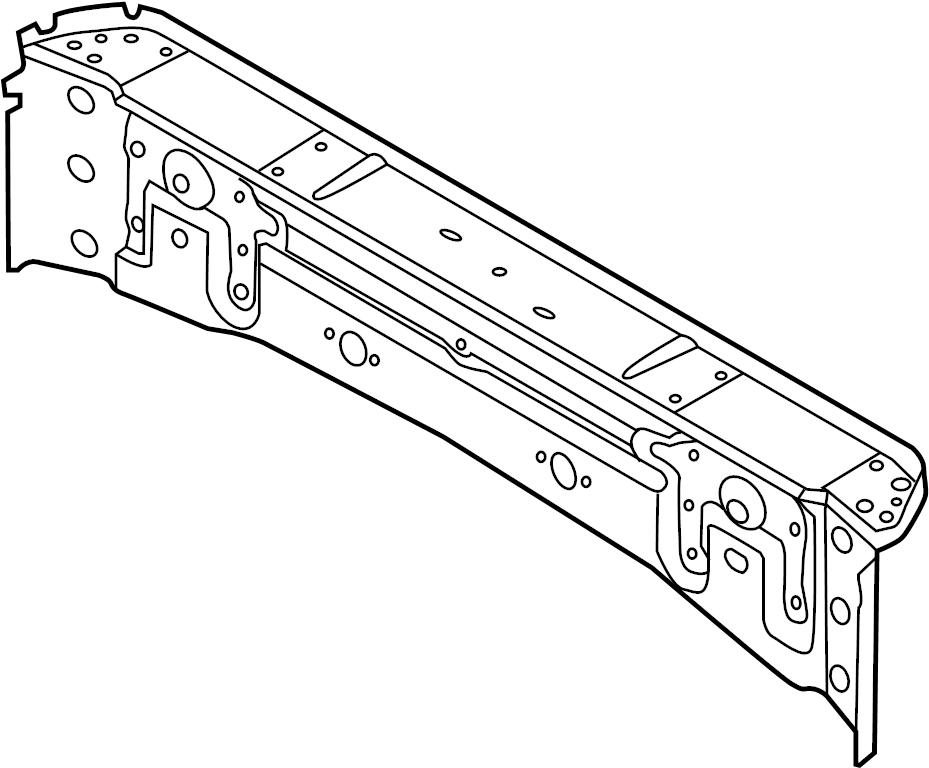 2014 Volkswagen Beetle Convertible Partition Panel