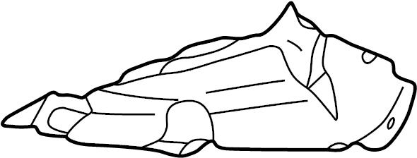 2000 Volkswagen Cabrio Engine Air Intake Hose. Duct. Air