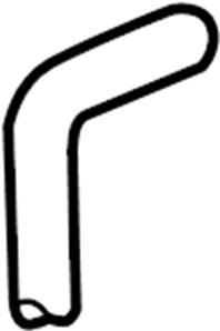 2002 Volkswagen Cabrio Return hose. Part number is for 5