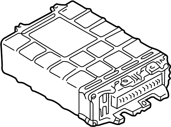 2000 Volkswagen Cabrio Contour unit. Ecm. Engine control