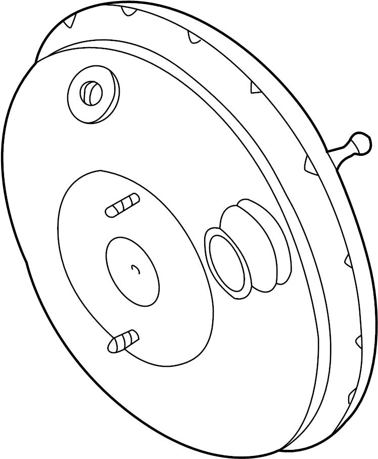 2002 Volkswagen Cabrio Booster. Power. Brake. Servo