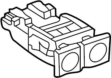 1999 Volkswagen Cabrio Convertible Top Switch. Cabrio