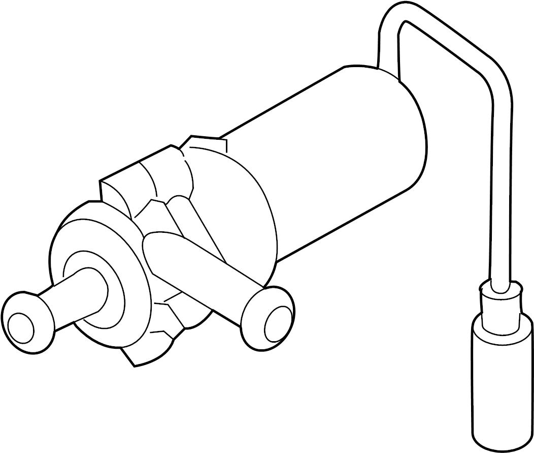 Volkswagen Phaeton Engine Water Pump Inclsket