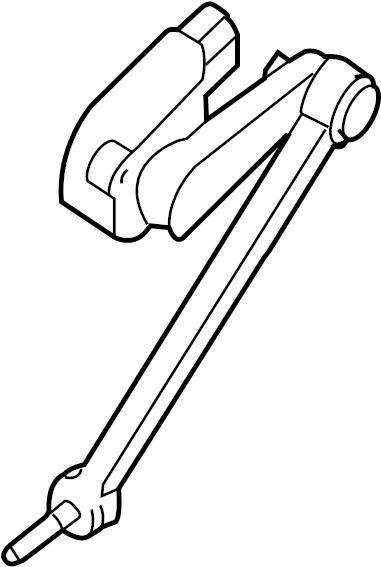 2006 Volkswagen Phaeton Height sensor. LEVELSENSO. Link
