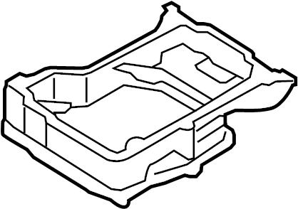 2006 Volkswagen Phaeton Oil pan. OIL SUMP. Upper oil pan