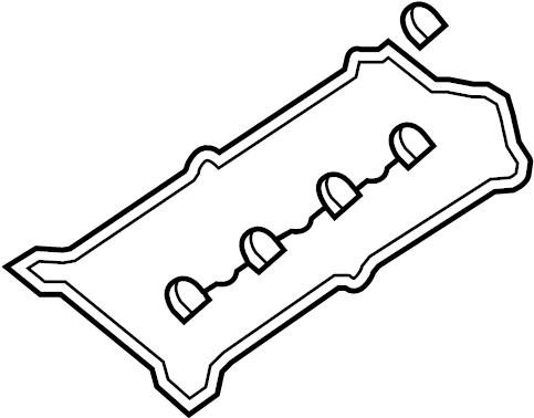 2007 Volkswagen Touareg Engine Valve Cover Gasket. GASKET