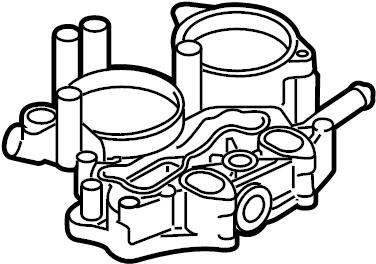 2010 Volkswagen Touareg Adapter. Engine oil filter housing