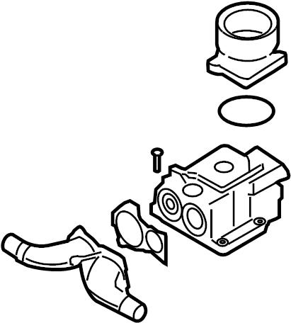 2007 Volkswagen Touareg Engine Oil Filter Housing. 5.0