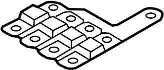 2011 Volkswagen Touareg Instrument Panel Circuit Board