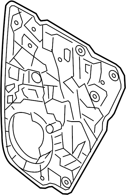 2017 Volkswagen Touareg Regulator. Touareg Hybrid; Left