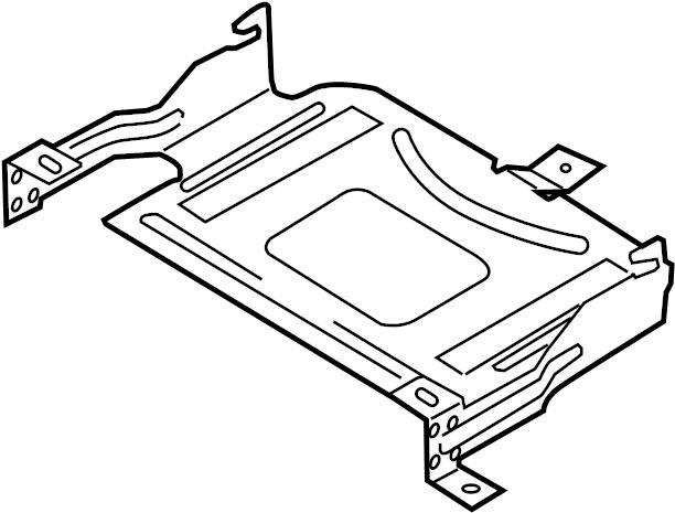 2007 Volkswagen Passat Wagon Engine Control Module Bracket