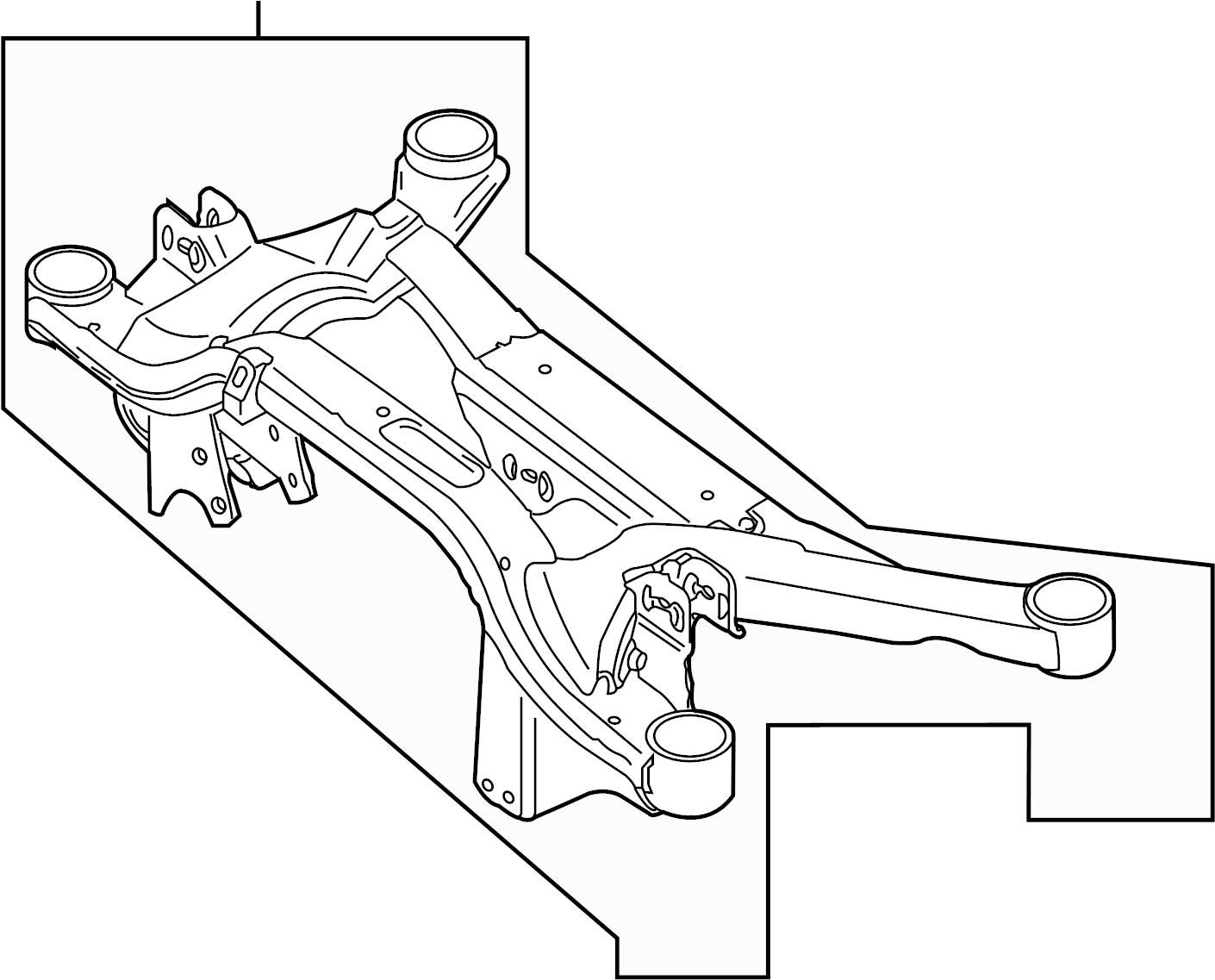 Volkswagen Tiguan Suspension Crossmember C Mbr