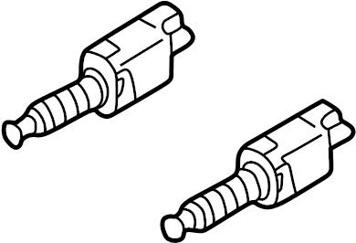 1999 Volkswagen Passat Wagon Deactivator switch. Vacuum