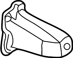1998 Volkswagen Passat Bracket. Mount. Support. 1.8 liter