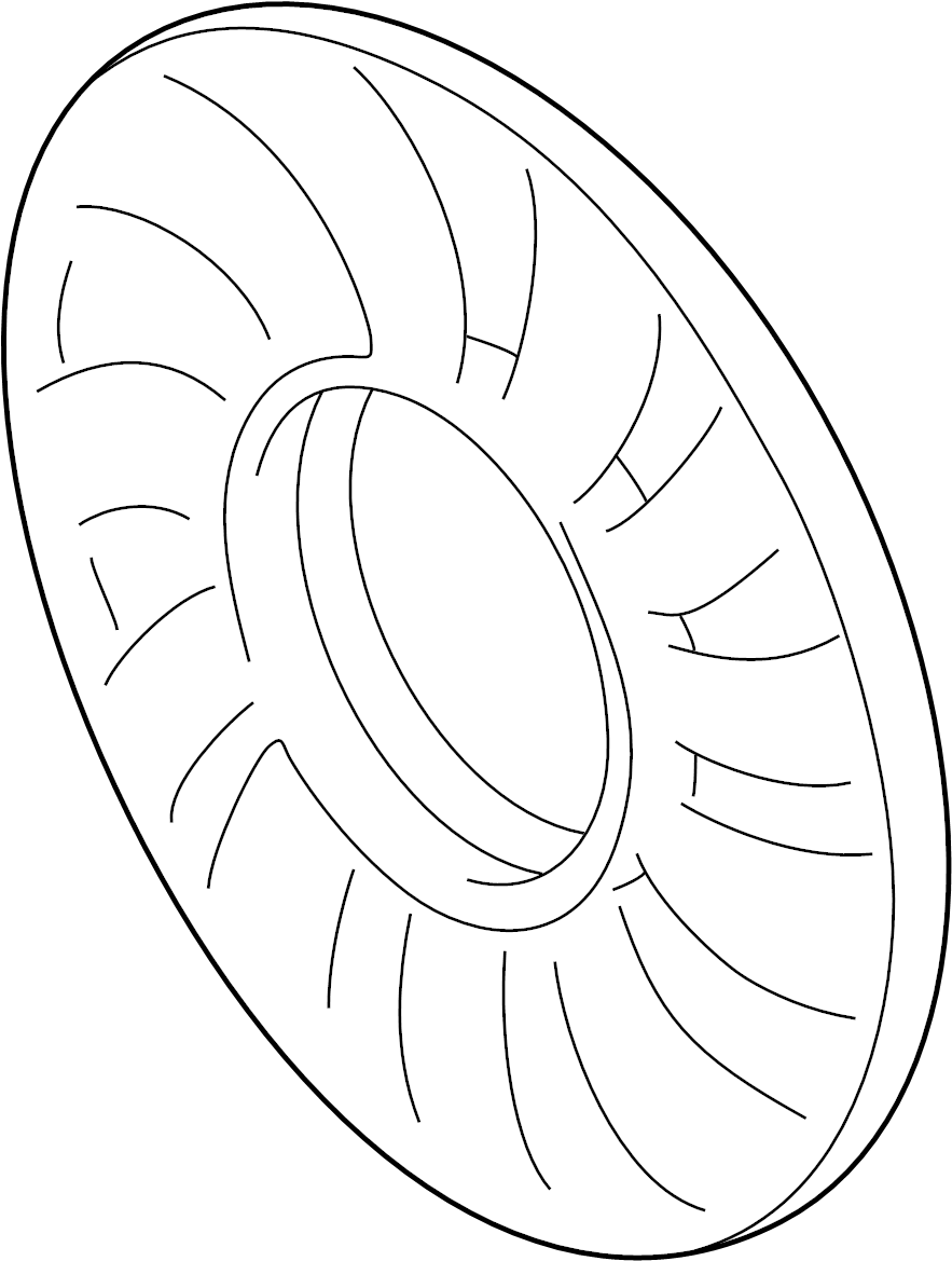 2000 Volkswagen Passat Wagon Engine Cooling Fan Clutch