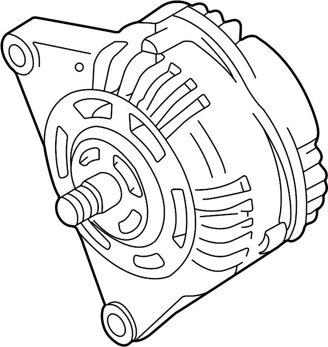 2004 Volkswagen Passat Alternator. GENERATOR. 150 Amp