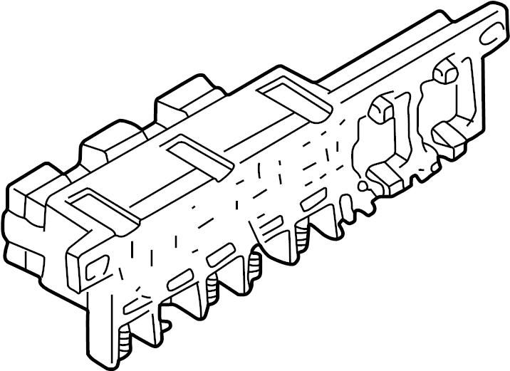 1999 Volkswagen Passat Wagon Fuse. Relay. Plate. Box. A