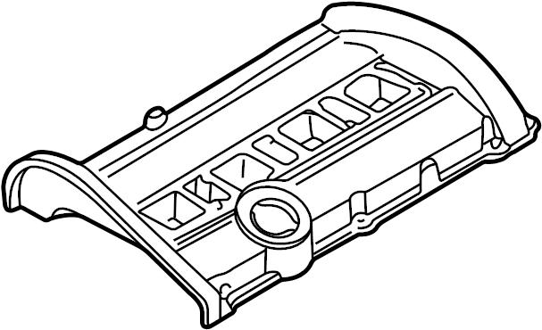 2004 Volkswagen Passat Engine Valve Cover. 1.8 LITER. 1.8