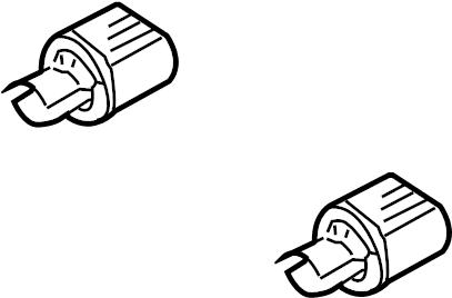 2006 Volkswagen Passat Headlight Socket. W/O DIRECTIONAL