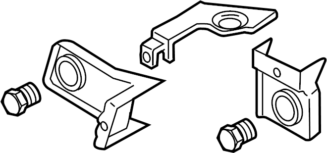 2007 Volkswagen Passat Adjust motor repair kit. Headlamp