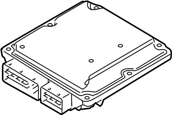 2006 Volkswagen Passat Engine Control Module. 2.0 LITER