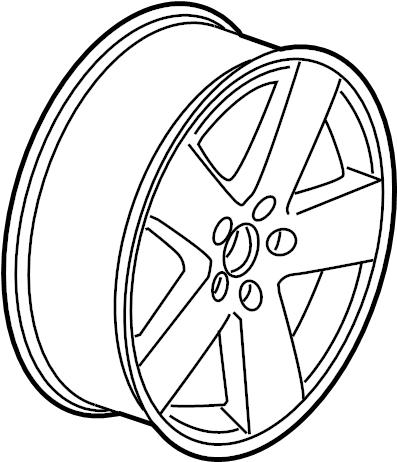 2007 Volkswagen Passat Wagon Wheel. Spoke, May, Notice