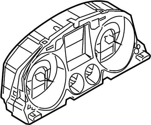 2007 Volkswagen Passat Wagon Instrument Cluster