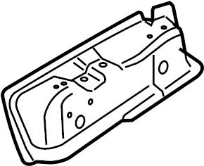 2007 Volkswagen Passat Wagon Seat Track Reinforcement