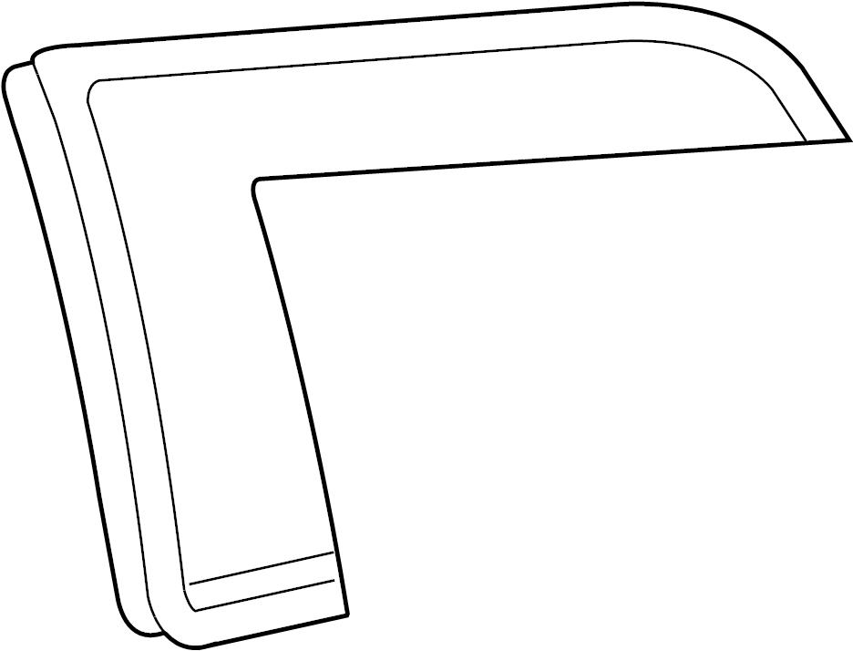 2007 Volkswagen Passat Wagon Tail Light Housing Seal