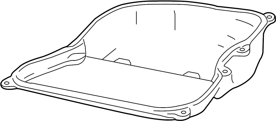 2010 Volkswagen Tiguan Oil sump. Trans pan. 3.6 liter