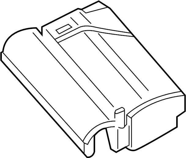 2015 Volkswagen Beetle Fuse Box Cover. Liter, ENGINE
