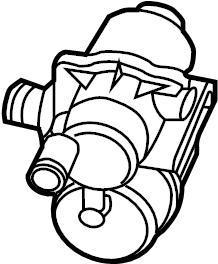 2014 Volkswagen Jetta Hybrid Detection. Pump. Leak. System