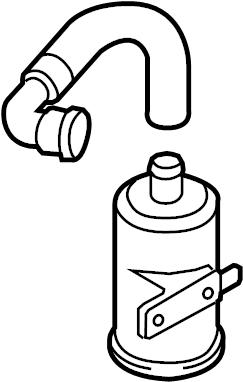 2012 Volkswagen Passat Filter. Vapor canister filter