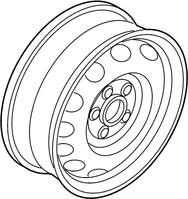 2017 Volkswagen Beetle Wheel. May, COVERS, Notice