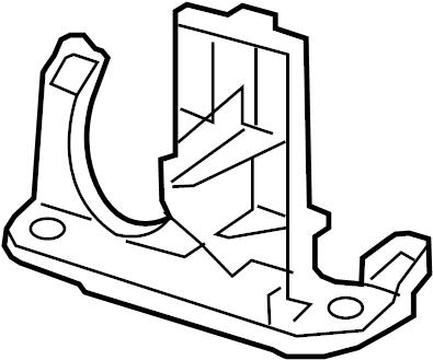 2012 Volkswagen Passat Power Steering Pump Reservoir