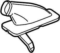 2014 Volkswagen Passat Boot. Switches & levers, auto trans