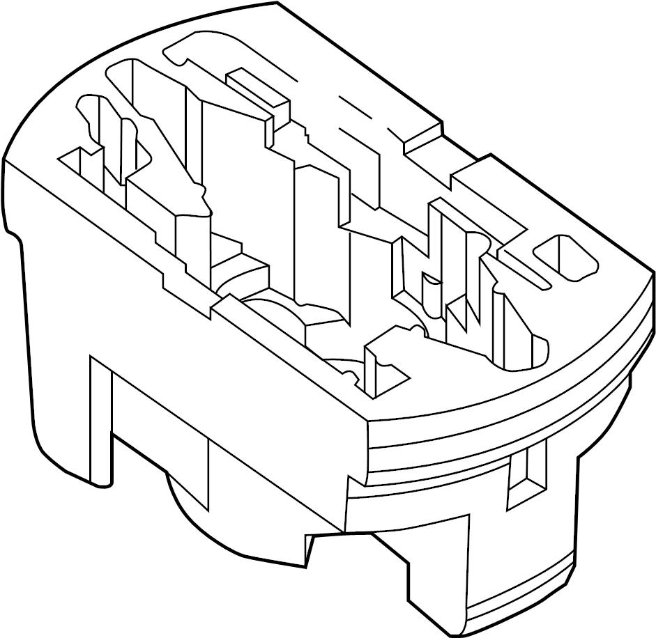 2013 Volkswagen Passat Trunk Floor Storage Box (Rear