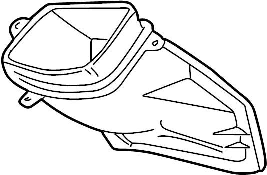 1993 Volkswagen EuroVan Connector piece. Instrument panel