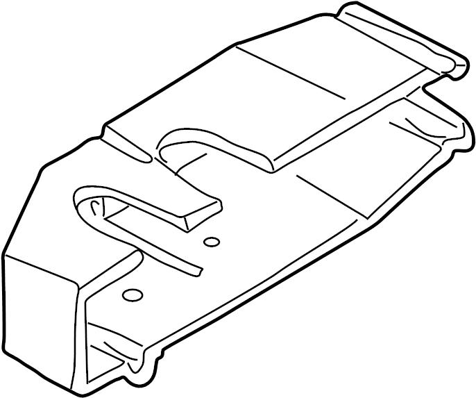 2001 Volkswagen EuroVan Engine Control Module Cover. 2.8