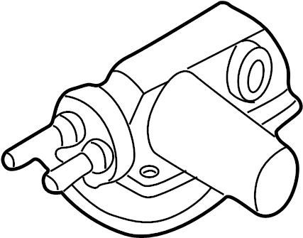 1997 Volkswagen EuroVan Cruise Control Vacuum Pump. VACUUM