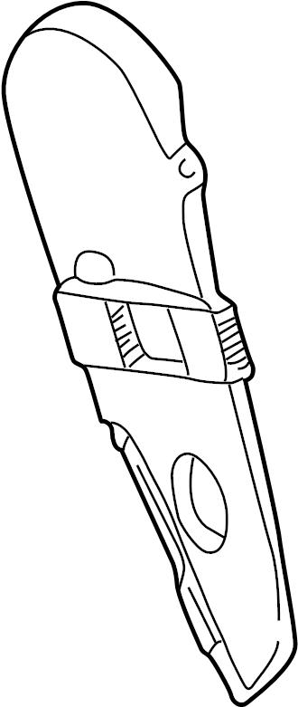 1995 Volkswagen EuroVan Engine Timing Cover (Front, Upper