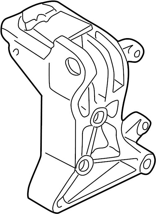 1993 Volkswagen EuroVan Engine bracket. Engine Mount