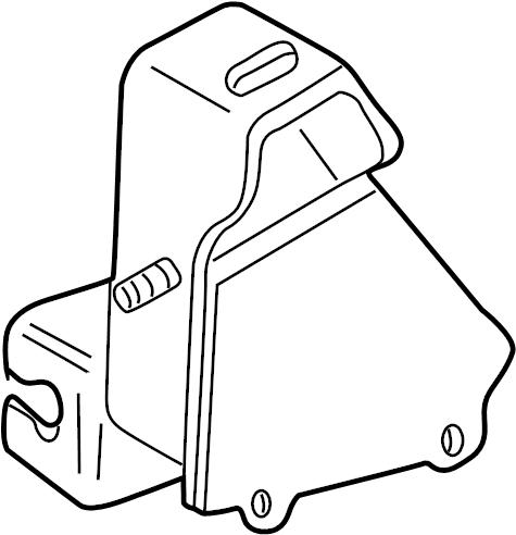 1995 Volkswagen EuroVan Automatic Transmission Mount